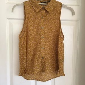 Poetry sleeveless blouse
